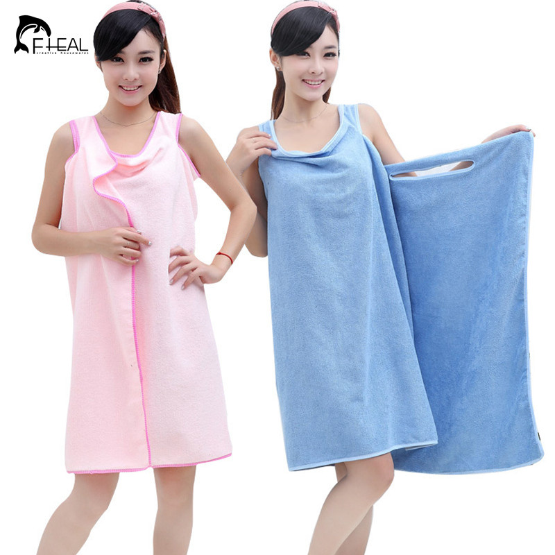 Creative Design Magic Bath Towel for Women Personalized Bathrobe Changeable Bath Skirt Home Textile(China (Mainland))