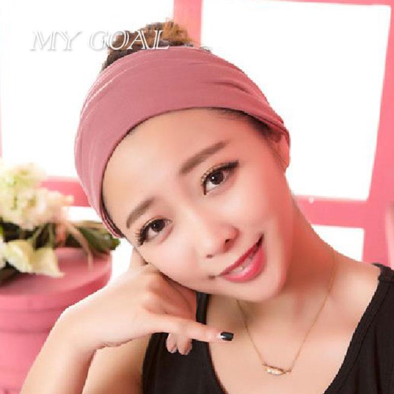 Women Stretch Twist Headband Turban Sport Yoga Head Wrap Bandana Headwear Hair Accessories 2016 New Headwears(China (Mainland))