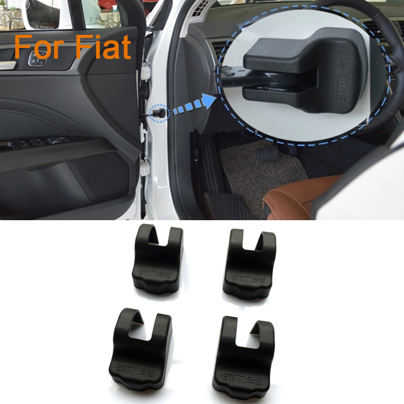 4pcs/lot Car styling Door Check Arm Protection Cover For Fiat Viaggio Ottimo(China (Mainland))