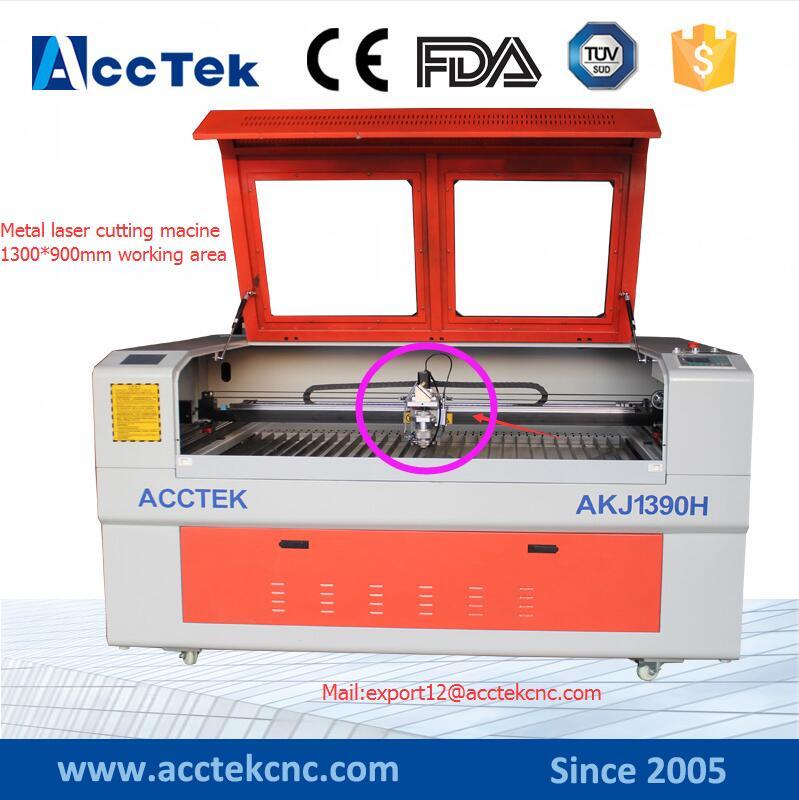 cnc laser cutting machine for metal,metal lazer cutting machine1300*900 metal co2 laser cutting machine(China (Mainland))