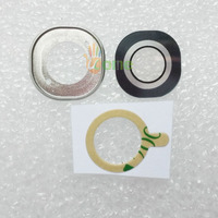 10Sets Original New Back Rear Camera Lens Cover With Ring 3M Glue Adhesive For LG G4 All Versions