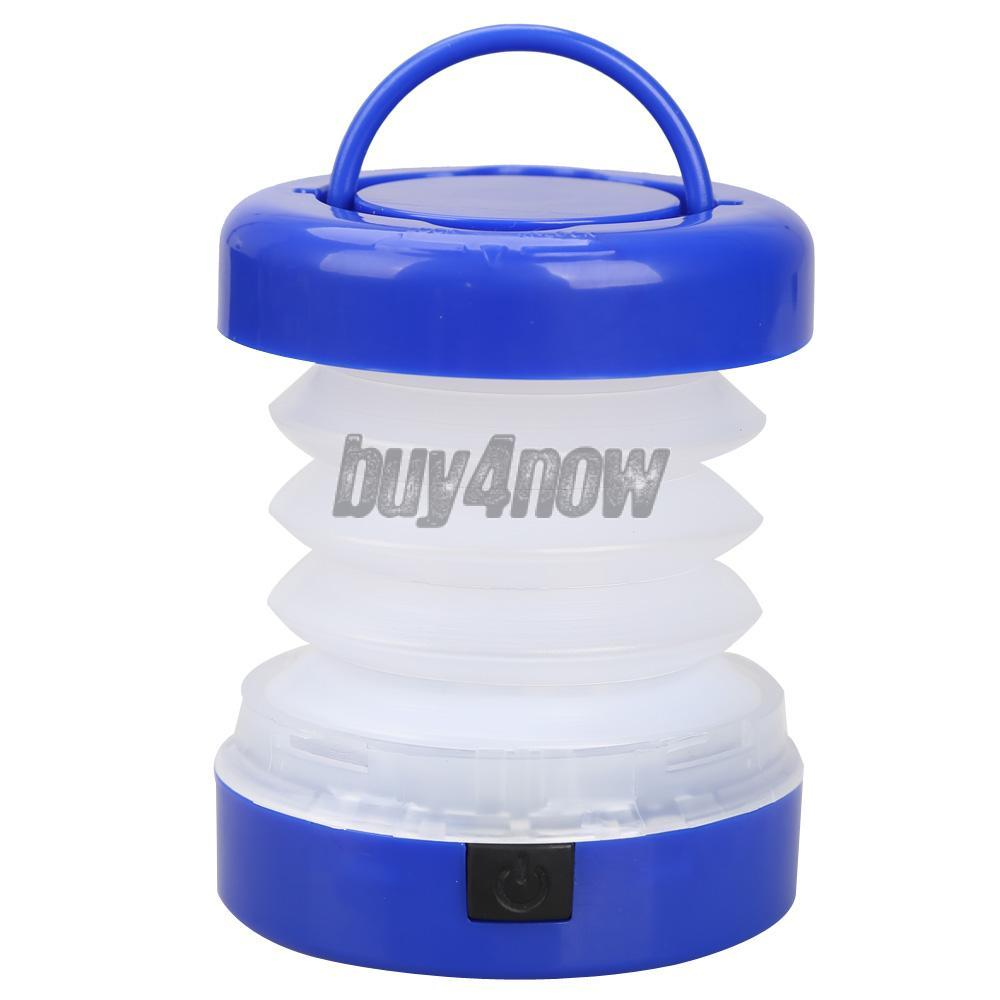 Durable 5 LED Waterproof Scalable Tent Light Outdoor Camping Lantern Blue 1STL(China (Mainland))