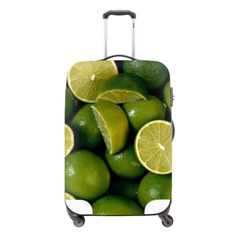 Fruits 3D Painting Luggage Protective Dust Covers Elastic Waterproof Suitcase Cover Apply to 18-30 Inch Cases Travel Accessories<br><br>Aliexpress