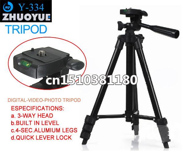 Y-334 Профессиональный штатив Компактный Штатив Камеры W/ca rrying чехол для Canon Nikon Sony panasonic МИНИ DSLR