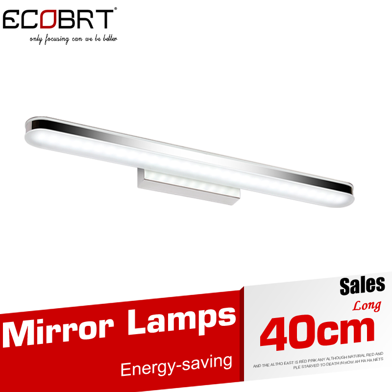 Newly LED Acrylic White Wall Light 40CM 8W Modern Fashionable Bathroom Sconces Lighting Fixtures Indoor over mirror 220V(China (Mainland))