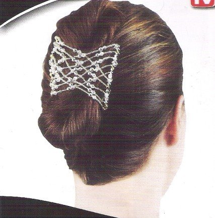 Free shipping Clearance Sale Fashion Magic Hair Comb Double/Twin Hairclips<br><br>Aliexpress