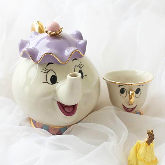 Beauty And The Beast Chip Cup Cartoon Beauty ...