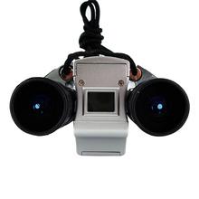 Free Shipping 3Mp max Mini Digital Binocular Camera + PC webcam Camera + Digital Video 4in1(China (Mainland))