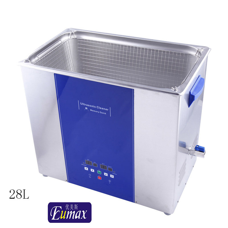 eumax ultrasonic cleaner with timer and memory storage UD600SH-28LQ industrial ultrasonic cleaning machine(Hong Kong)