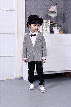 Children's Wear Children Suit Boys Gent Wind Spring Model Plover Jacket Pants Two Piece Kids Clothing Sets