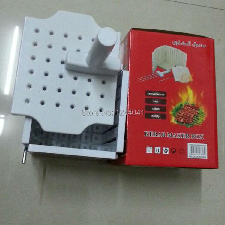 Kabob Meat Cutter Holes Bbq Kabob Maker Meat