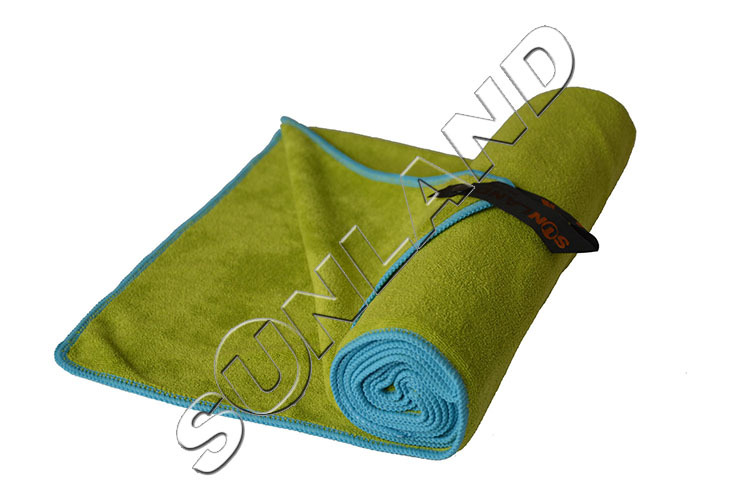 Sunland 50x100cm Microfiber Ultra Absorbent Drying Hair Hand Towel Travel Outdoor Camping Gym Workout Towel bath Towel With Bag(China (Mainland))