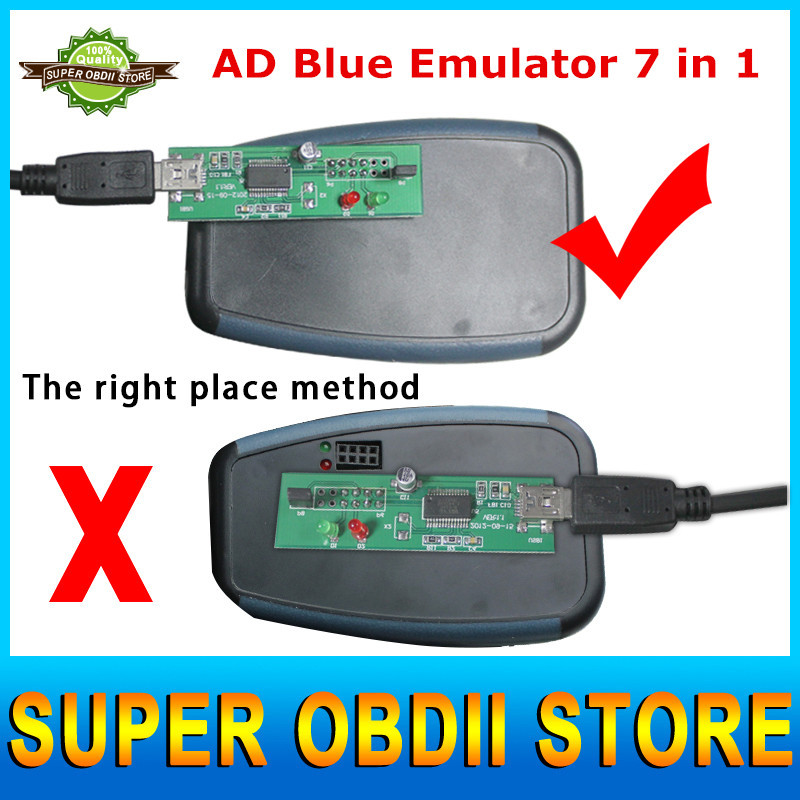 5pcs/LOT Promotion!!!AdblueOBD2 for MERCEDES Trucks Ad blue Emulator Renault/DAF/Scania,Heavy Vehicles With Programming Adapters(China (Mainland))