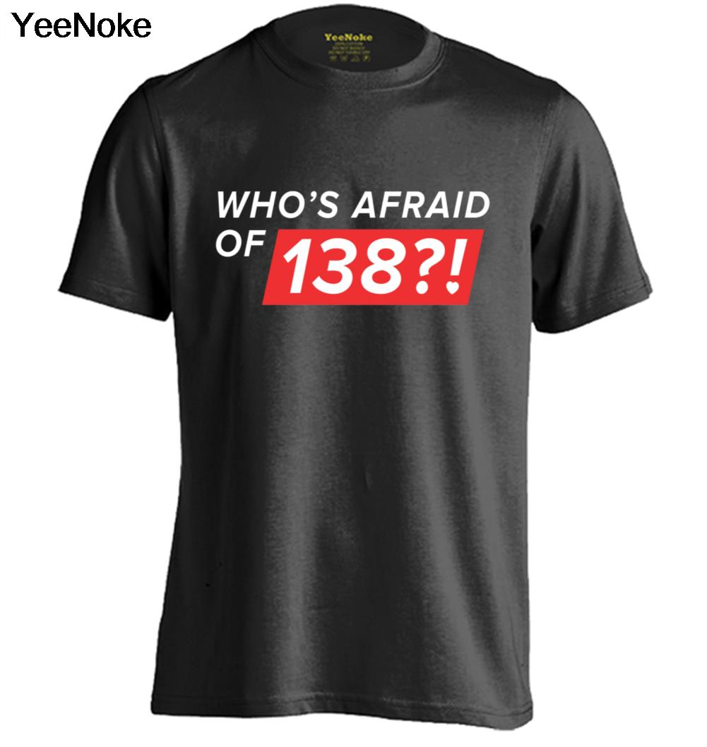 Who's Afraid of 138 Ping Pong Mens & Womens Personalized Retro T Shirt Cool Tee(China (Mainland))