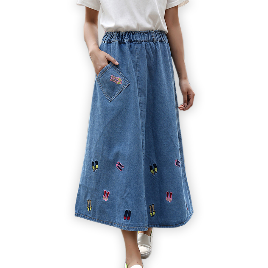 buy wholesale denim skirts from china
