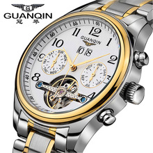 Guaranteed! Top quality men sports watches Luxury  brand GQ10029 sapphire Waterproof  tourbillon automatic sports watch hours