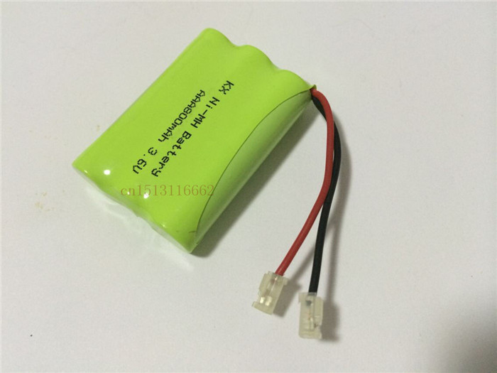 1PCS/lot New riginal Ni-MH AAA 3.6V 800mAh Ni MH Rechargeable Battery Pack With Plugs For Cordless Phone Free Shipping(China (Mainland))