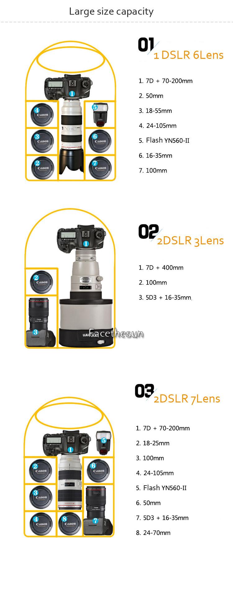 Professional Camera Backpack Bag NG--6