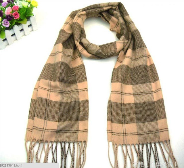 hot selling scarf cotton men scarf shawl(1piece) with tag light yellow black