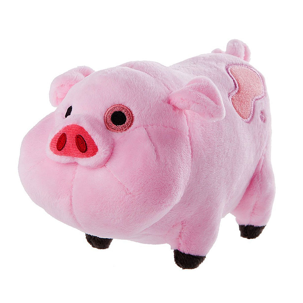 Super Cute Plush toys Gravity Falls Pink Pig Plush and stuffed animal pig Doll toy gifts 16CM(China (Mainland))
