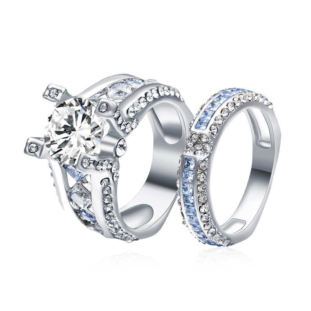 RN3093 Cubic Zirconia Wedding Bands RingsTop Engagement Couple Ringyeezy Boost 350 Women Fall