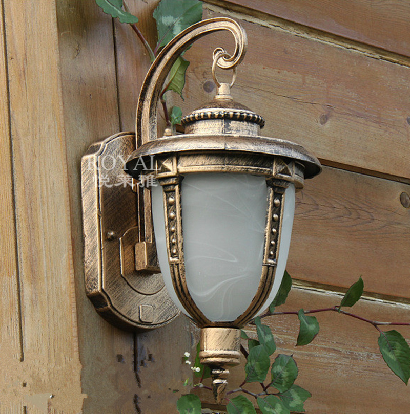 Купить 220 v outdoor patio waterproof wall lamp, corridor ba.