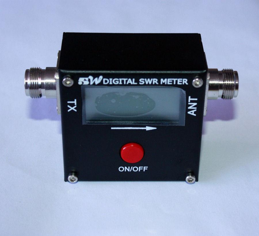 Digital Rf Power Meters : Free shipping digital rf radio swr power meter