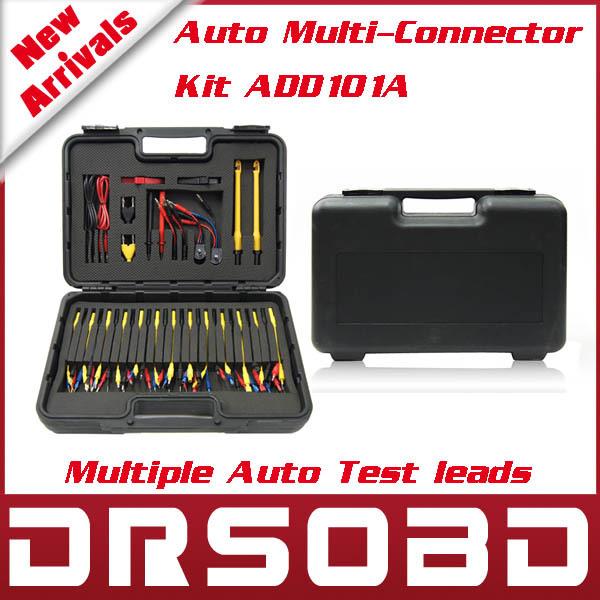 Auto Multi-Connector Kit ADD101A multiple Automotive Test Lead car diagnostic cables connectors - DRSOBD Diagnostic Tool Store store