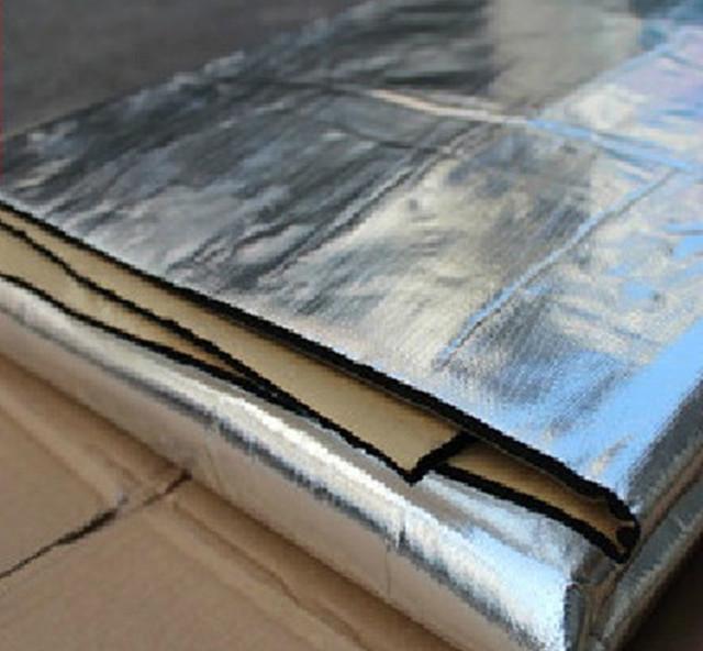 Thicken Car Aluminum Foil Material Sound Insulation Cotton Thermal Insulation Cotton Sound-Absorbing