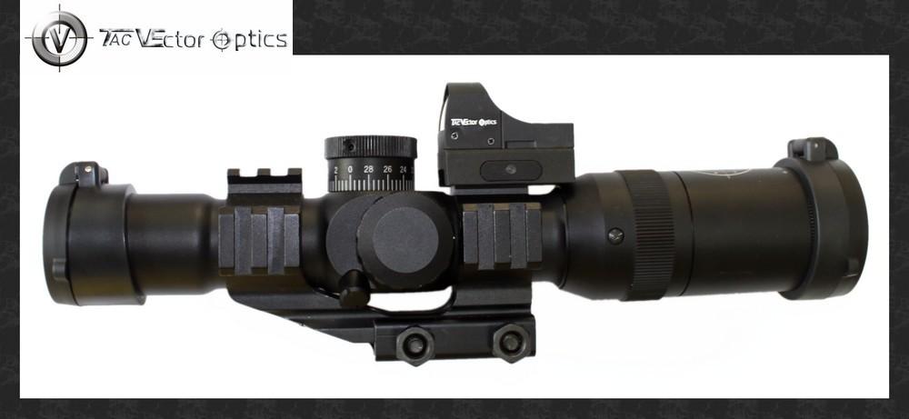 Здесь можно купить  Super Deals-Tactical FRONT 1-4x24 (FFP) First Focal Plane Hunting Riflescope Long Eye Rifle 30mm Monotube Rifle scope  Спорт и развлечения