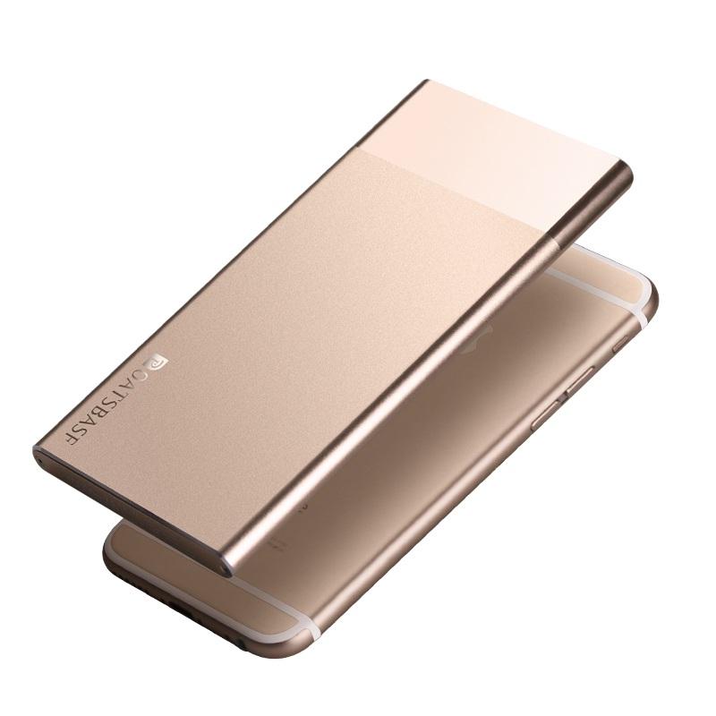 For iPhone 6s/6 4.7-inch Powerbank OATSBAS 10000mAh Li-polymer Battery Power Bank P9 for iPhone iPod Samsung Sony HTC LG Huawei