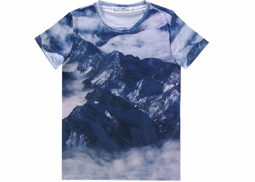 Galaxy White t Shirt White Cloud 3d t Shirts