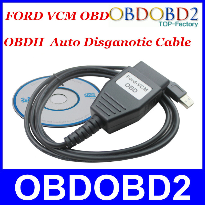 Quality A+++ For Ford VCM OBD Diagnostic Interface For Ford/Mazda VCM IDS Scan Tool Good Function(China (Mainland))
