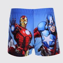 2016 New Boys Trunks Fashion Print Children s Swimming Pants Summer Cartoon Kids Swimwear Beach Shorts
