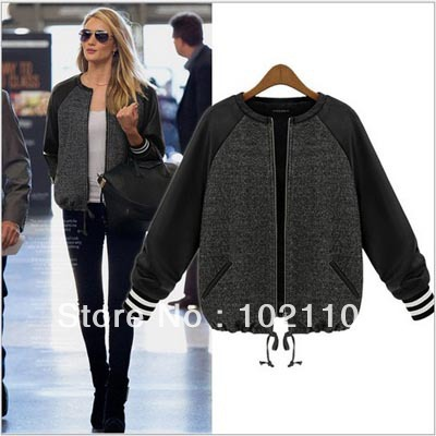 Women's fashion baseball jackets – Novelties of modern fashion ...