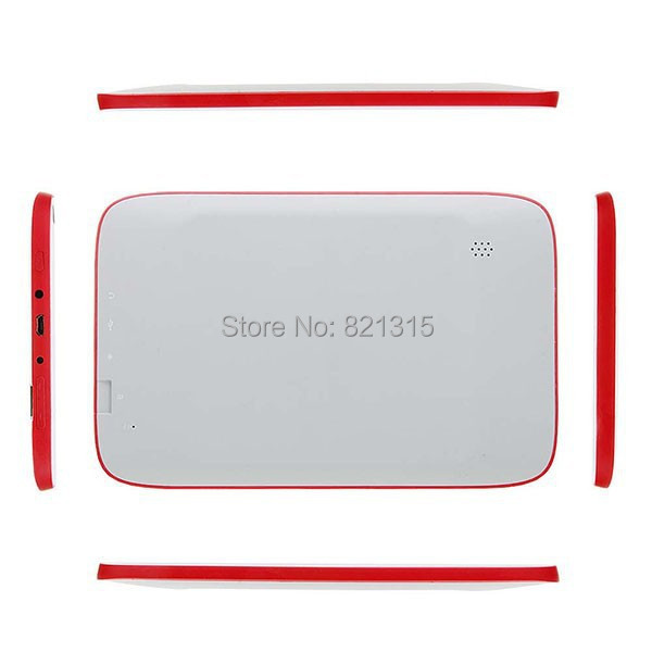 7inch A23 Android 4 2 kids tablets 512M ram 4G rom dual camera wifi Kids Tablet