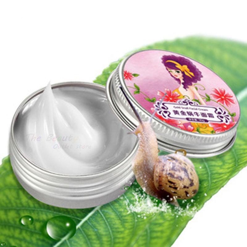 brand Snail essence face cream balm moisturizing whitening moisturizing anti-wrinkle anti-acne HK post(China (Mainland))