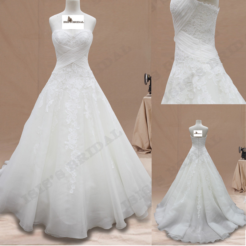 Buy vestido de noiva strapless beach for Strapless summer wedding dresses