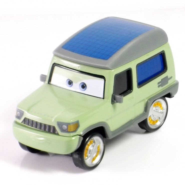 Pixar Cars 2 Miles Axlerod 1:55 Alloy car Alloy model car Superb manufacturing process Birthday gift free shipping(China (Mainland))