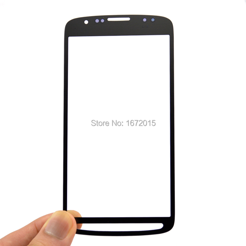 Grey Front screen For Samsung Galaxy S4 Active i9295 i537 touch screen Glass lens Replacement , Free shipping !!!(China (Mainland))