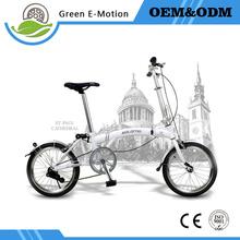 2016 new folding mountain bike portable 16 inch aluminum alloy single speed three times(China (Mainland))