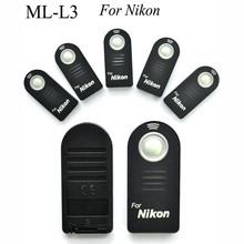 1Pcs Convenient Wireless Lithium IR Remote Control ML-L3 For Nikon D7000 D5100 D5000 D3000