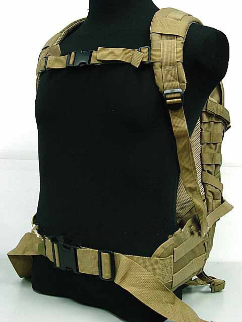 Tactical sports backpack Molle Patrol Rifle Gear Coyote Brown sports Backpack bag hiking(China (Mainland))