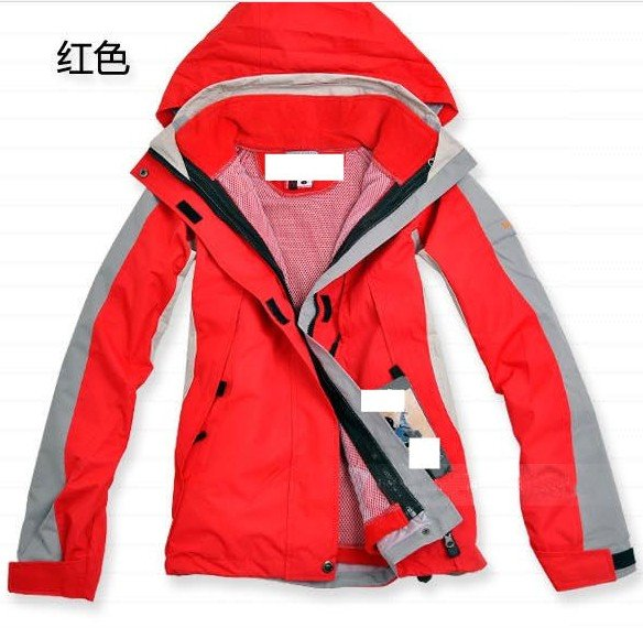 Fashion Women's Outdoor Waterproof Jacket 2in1 Coat /5Color Spring Autumn Winter season - Online Store 214194 store