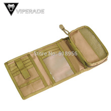 NEW outdoor tactical wallet phone package card package documentation package 1000D nylon fabric water repellent Free Shipping(China (Mainland))