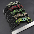 New outdoor camping jungle survival battle karambit cs go folding tactical knife hunting knives scorpion claw