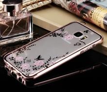 Luxury Soft Transparent Case Star Diamond Cover Samsung galaxy S7 S6 Edge Plus Note5 G530 A3 A5 A7 J1 J3 J5 J7 2016 - Primary league store