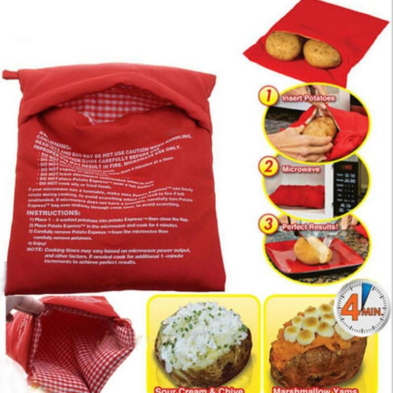 Achetez en gros micro ondes de pommes de terre sac en ligne des grossistes - Pomme de terre vapeur micro onde sac plastique ...
