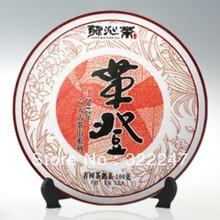 2012 Yunan puer tea puer raw pu'er 100g the food organic Chinese tea puerh slimming pu er tea 100 pu-erh cha gao for weight loss