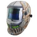 SKULL DIN9 DIN13 Solar Li auto darkening TIG MIG MMA welding helmets welder goggles mask eyes